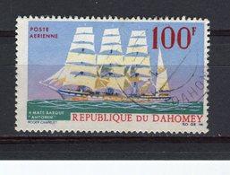 "DAHOMEY - Y&T Poste Aérienne N° 58° - Bateau - Trois-mâts Barque ""Antonin"" - Bénin – Dahomey (1960-...)"