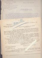 Chemins De Fer / Avaries Mouille / Rapport Expertise / Humidité Expéditions Blé / 1925/30 - Vieux Papiers