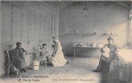 """PARIS  -  Hopital """" MARIE-LANNELONGUE """", 129 Rue De Tolbiac  -  Salle De Pansements  -  Dispensaire  -  Infirmière - Arrondissement: 13"""