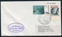 1973 MS REGINA MARIS Hamburg, Lubeck Linie Ship Cover - Briefe U. Dokumente