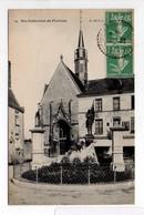- CPA SAINTE-CATHERINE-DE-FIERBOIS (37) - La Place 1926 (BOUCHERIE JEANNE) - Edition R. Dorange N° 29 - - Francia