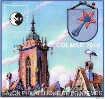 Bloc CNEP N° 55 - Salon Philatélique De Printemps 2010 à COLMAR - CNEP