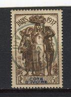 COTE D'IVOIRE - Y&T N° 136° - Exposition Internationale De Paris - Used Stamps
