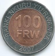 Rwanda - 100 Francs - 2007 - KM32 - Rwanda