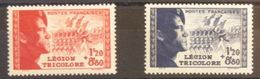 FRANCE N°565-566 N**  Cote 25€ - France