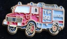 SAPEURS POMPIERS DE LA VILLE DE GRYON - TP 92 - VEHICULE - SERVICE DU FEU    -  (21) - Pompiers