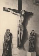 ***  AUBE ***  TROYES Photo D'art Godin Gaudin -format CP (certainement Destination Finale) Christ En Croix - Dédicacées