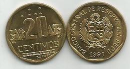 Peru 20 Centimos 1991. High Grade - Peru