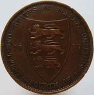 Jersey 1/24 Shilling 1877 XF - Jersey