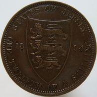 Jersey 1/12 Shilling 1894 XF - Jersey