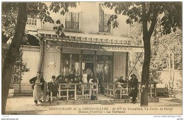 92.ANTONY.N°24115.RESTAURANT DE LA GRENOUILLERE.40 ROUTE DE VERSAILLES.LA CROIX DE BERNY.MAISON FREDERIC.LA TERRASSE - Antony