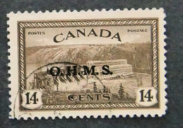 CANADA - 1950 - Service N° 5 - Surcharge OHMS - Officials