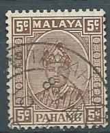 Pahang  - Yvert N° 24 Oblitéré -  Bce 18320 - Pahang