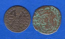 Liar  Philippe Llll  1655   Liard  +  Une   Pieces - Países Bajos Españoles