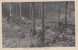 Feuerlinie In Den Franz Vogesen - Guerre 1914-18