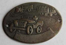 Plaque De Bracelet Militaire Jeep Camion Militaria - Militaria