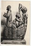 AUBE *** Photo D'art Godin Gaudin -format CP (certainement Destination Finale) Sculpture  Jésus Au Jardin Des Oliviers - Fotos Dedicadas