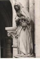 AUBE *** Photo D'art Godin Gaudin -format CP (certainement Destination Finale) Sculpture  St Madeleine TROYES - Signed Photographs