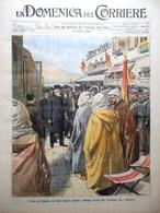 La Domenica Del Corriere 28 Gennaio 1906 Algesiras Sendling Pattini Proteo Expo - Autres