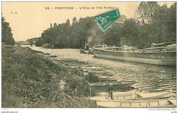 95.PONTOISE.N°10710.L'OISE ET L'ILE POTHUIS - Pontoise