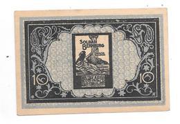 **notgeld  Bernburg 10 Pfennig B32.2a Catal Val. 3,00 Euro - [11] Local Banknote Issues