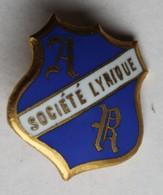 Broche Ancienne émaillée Société Lyrique AR Musique Chant Chorale - Broches
