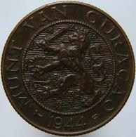 Curacao 2 1/2 Cent 1944 D AUNC - Curacao