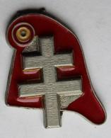 Porte Clés Parti Politique RPR Croix De Lorraine Bonnet Phrygien Rassemblement Pour La République - Organizations