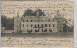 Spy    Le Château.    -  (Kreuk Onderaan)   -   Namur   1903   Naar   Amboise - Jemeppe-sur-Sambre