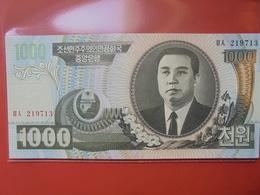 COREE(NORD) 1000 WON 2006 PEU CIRCULER/NEUF - Korea, North