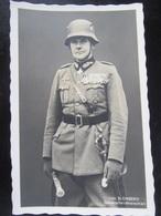 Postkarte Propaganda - Von Blomberg - Photo-Hoffmann - Briefe U. Dokumente