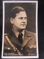 Postkarte Propaganda - Baldur Von Schirach - HJ - Hitlerjugend Spende - Erhaltung I-II - Deutschland