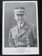 Postkarte Propaganda - Viktor Lutze - SA - Sturm Abteilung - Reichswettkämpfe 1939 - Deutschland