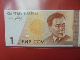 KIRGHIZISTAN 1 SOM 1994 PEU CIRCULER/NEUF - Kyrgyzstan