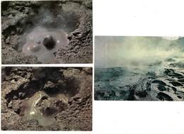 Pozzuoli Napoli Vulcano  Solfatara Vulkaan Lava  Volcano Vulcan Volcan 3 Stuks/pcs  Landschap Landscape - Evénements
