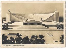 """Nürnberg  - Stadt Der Reichsparteitage  - Maquette Du """"Deutsche Stadion""""  - époque Du NSDAP - Guerre 1939-45"""