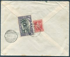 1925 Greece Banque D'Athens - Agence De Candie Registered Lord Byron Centenery Cover - Corsdorf Germany - Covers & Documents