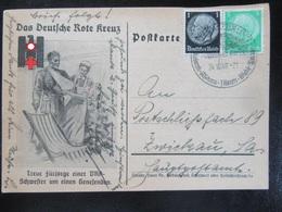 Postkarte Propaganda DRK - Gelaufen - Erhaltung I-II - Briefe U. Dokumente