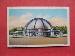 United States Steel Building NYWorlds Fair  1939      Ref 3305 - Exhibitions