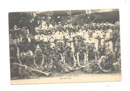 TAHITI - After The Otéa / Après La Danse - Groupe De Danseurs Hommes. Folklore,costume ,...(fr75) - Tahiti