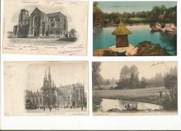 CPA, D.59, Lot De 50 Cartes Postales Anciennes ,du Département Du Nord, 1900 - 1950 - France