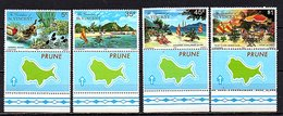 Grenadines Of Saint Vincent 1977 Prune Island With Label Complete Set MNH SG 100-3 (332) - St.Vincent & Grenadines