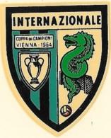 Decalcomania Originale D'Epoca Anni '60 Inter Scudetto - Football