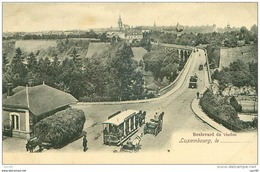 Luxembourg .N°39538 . Boulevard Du Viaduc - Luxemburg - Town