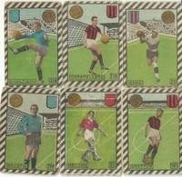 6 FIGURINE CICOGNA 1948/49 - Calcio