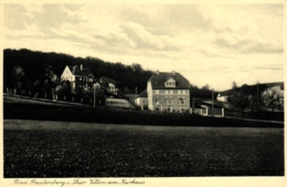 Bad Rastenberg, Villen Am Kurhaus, Ca. 30er Jahre - Rastenburg