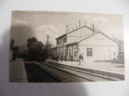 CPA Mourmelon Le Petit La Gare Du Camp De Chalons Non Circulée - France