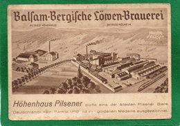 Höhenhaus CPA Vue Aerienne BRASSERIE District De Cologne Situé Sur La Rive Droite Du Rhin, Dans Le District De Mülheim - Koeln