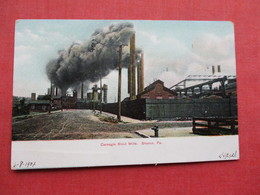 Carnegie Steel Mills  Sharon Pa.    Ref 3305 - Industry
