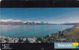 New Zealand, Chipcard Nr 186, $5 Lake Pukaki. - Neuseeland